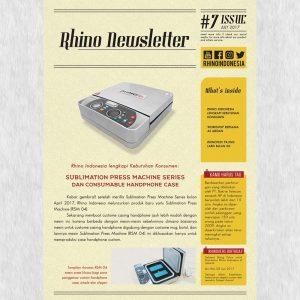 Rhino Indonesia Newsletter Juli a