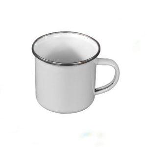 Enamel Mug Silver Tip